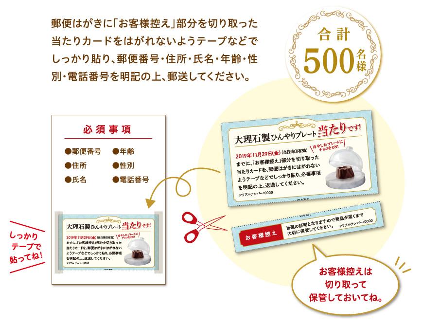 グリコ HOBAL ホーバル 大理石プレート懸賞キャンペーン2019 応募方法