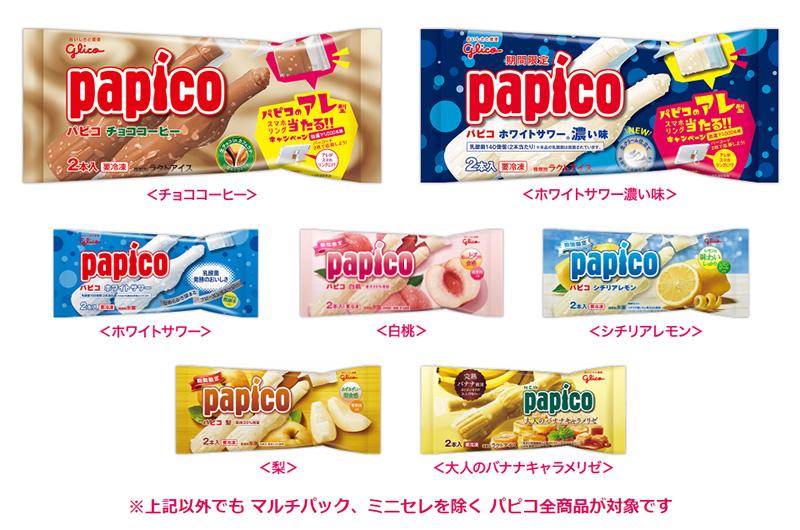 パピコ スマホリング懸賞キャンペーン2019~2020 対象商品