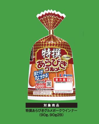 伊藤ハム 特選あらびきグルメ 懸賞キャンペーン2019 対象商品