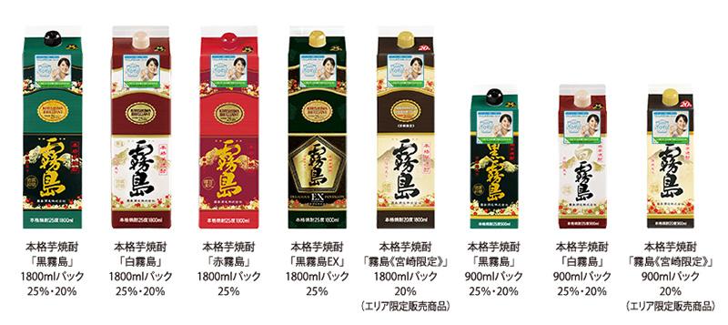 霧島酒造 黒霧島 懸賞キャンペーン2019~2020 対象商品