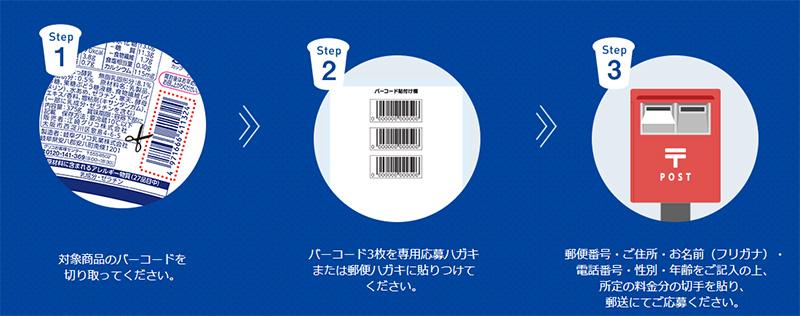 ビフィックス BifiX 懸賞キャンペーン2019冬 応募方法