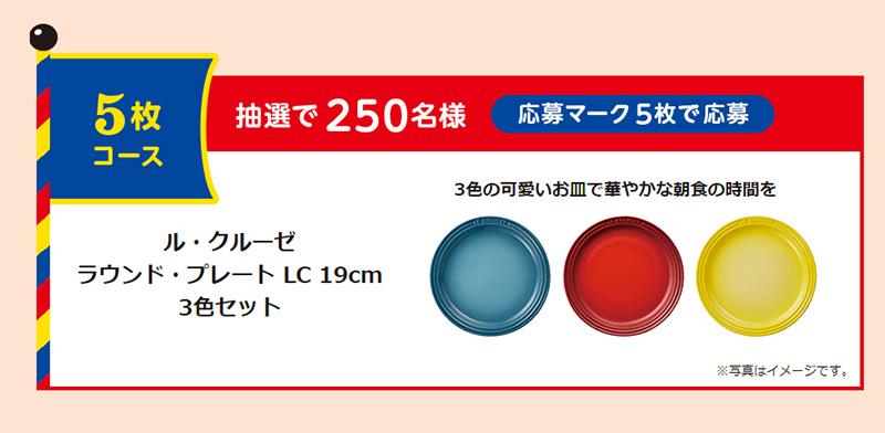 R1 LG21 PA3 明治プロビオヨーグルト懸賞キャンペーン2019~2020 プレゼント懸賞品 5枚コース
