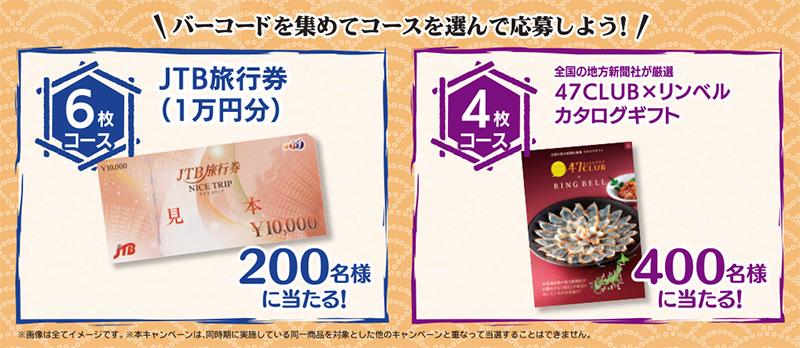 マルちゃん うどん そば 懸賞キャンペーン2020冬 プレゼント懸賞品