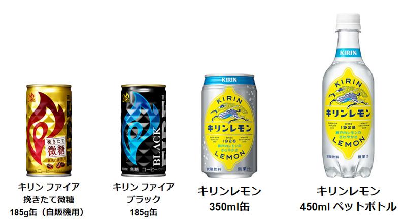 キリンレモン ファイア 自販機懸賞キャンペーン2020 対象商品