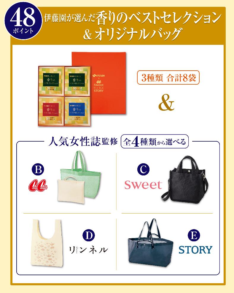 伊藤園 絶対もらえるキャンペーン2020春夏 プレゼント懸賞品48ポイントコース