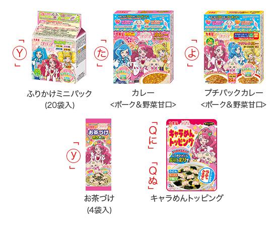丸美屋 プリキュア懸賞キャンペーン2020春夏 対象商品