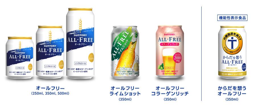 オールフリー懸賞キャンペーン2020夏 対象商品