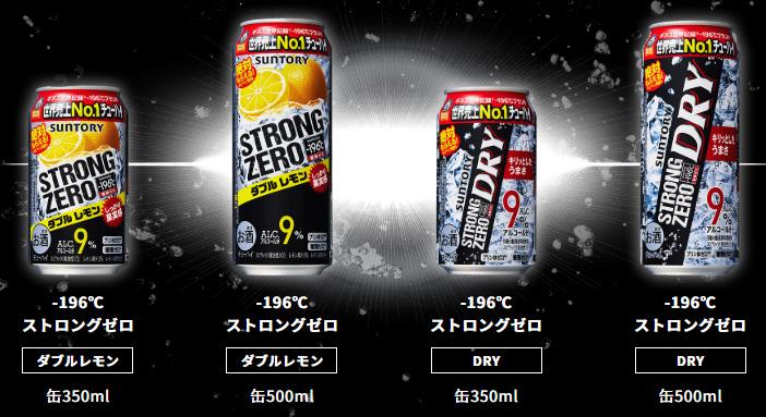 ストロングゼロ 絶対もらえる懸賞キャンペーン2020夏 対象商品