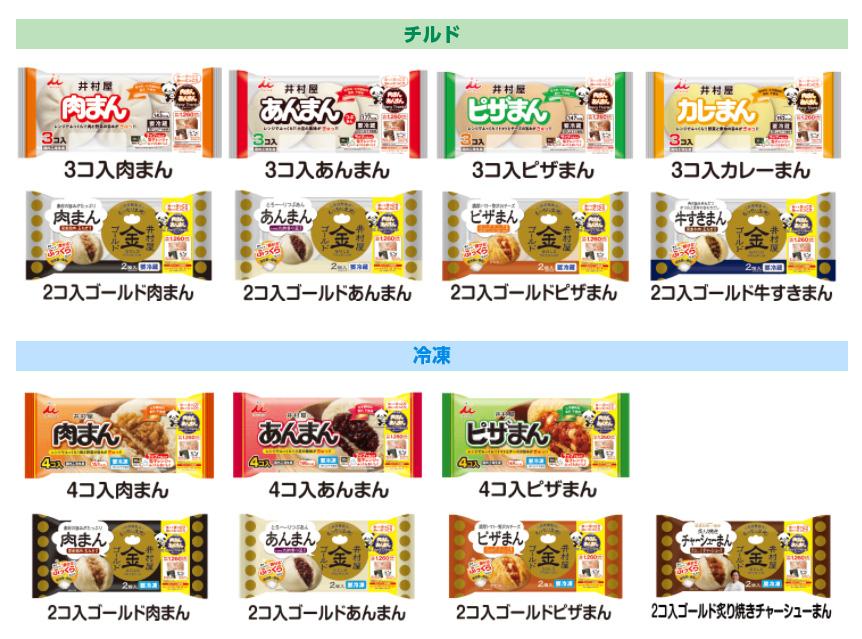 井村屋 肉まん あんまん懸賞キャンペーン2020~21 対象商品
