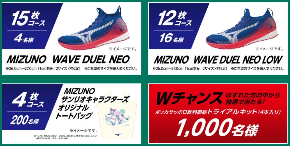 キレートレモン MIZUNO懸賞キャンペーン2020 対象商品