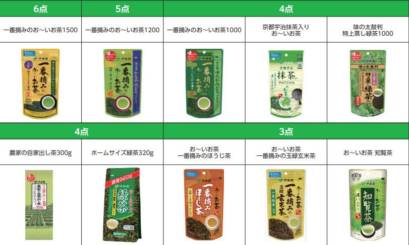 伊藤園 お~いお茶 絶対もらえるキャンペーン2021 対象商品