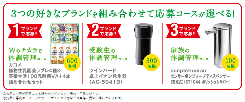カゴメ ラブレ 野菜生活 懸賞キャンペーン2020冬 プレゼント懸賞品