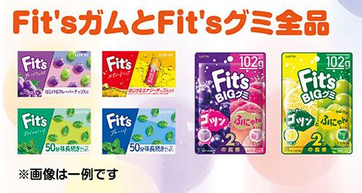 Fit's フィッツ NiziU 二ジュー 懸賞キャンペーン 対象商品