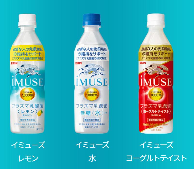 イミューズ iMUSE 懸賞キャンペーン2020 ~ 2021 対象商品