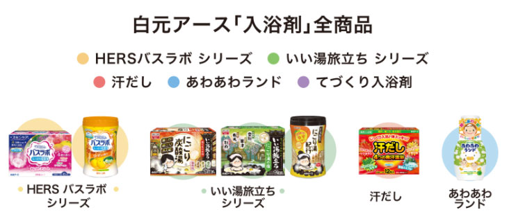 白元アース 入浴剤 懸賞キャンペーン2021 対象商品