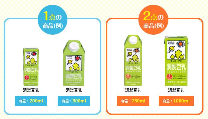 キッコーマン豆乳 ディズニー懸賞キャンペーン2021夏秋 対象商品