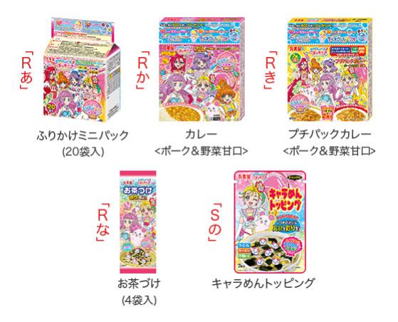 丸美屋 プリキュア懸賞キャンペーン2021春夏 対象商品