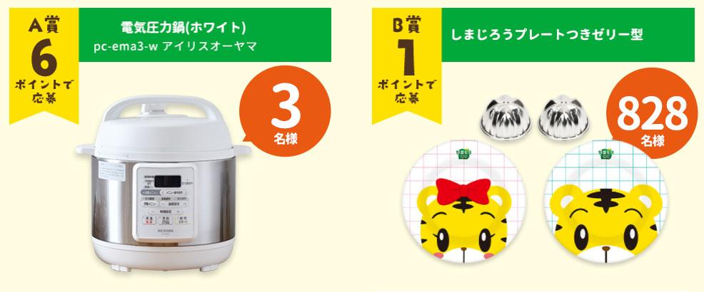 カゴメ野菜生活100 しまじろう懸賞キャンペーン2021夏 プレゼント懸賞品