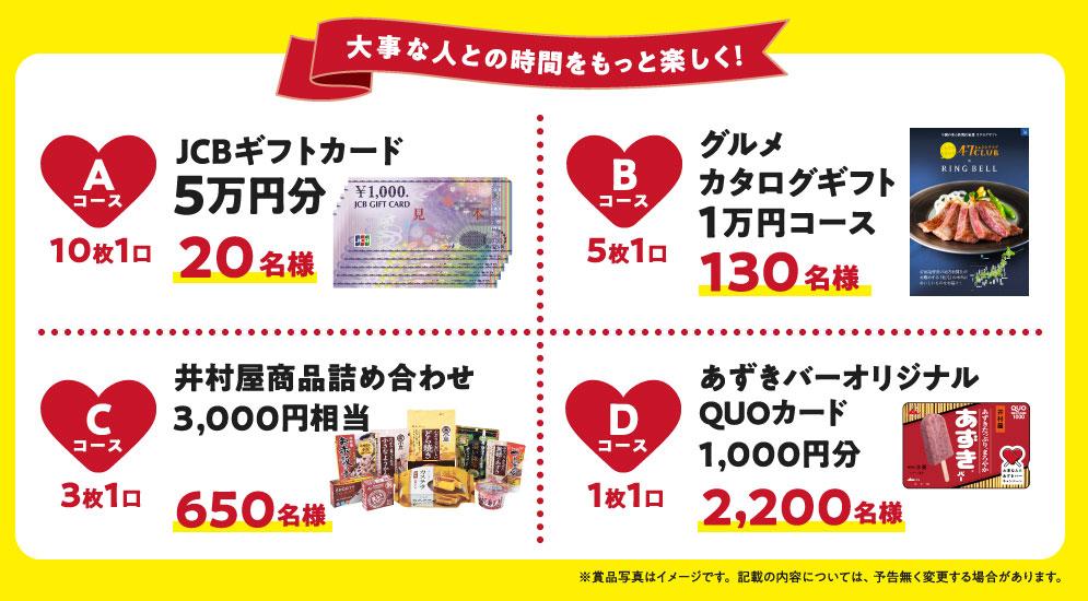 井村屋あずきバー 懸賞キャンペーン2021夏 プレゼント懸賞品