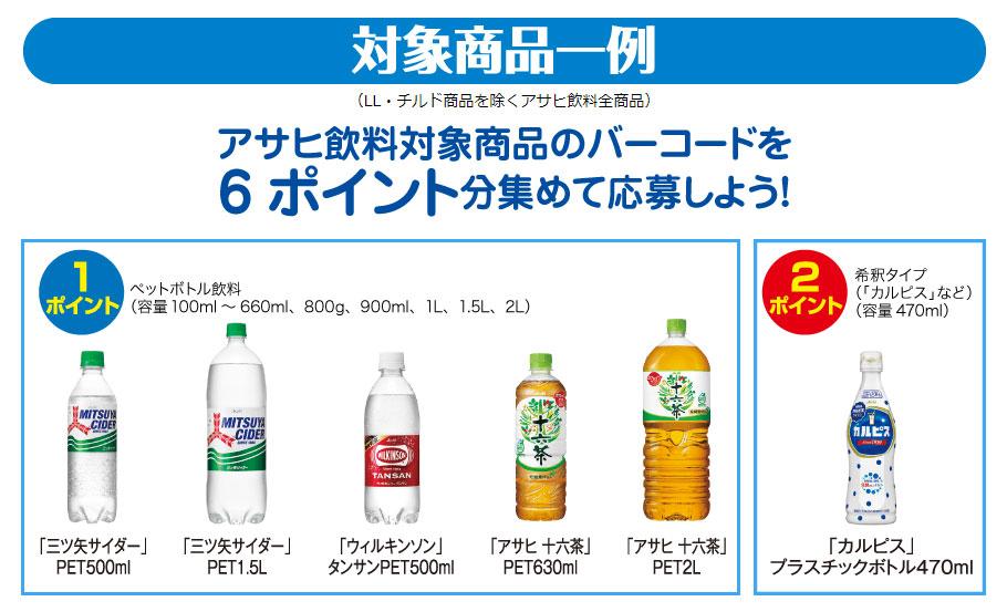 三ツ矢サイダー 十六茶 トミカ プラレール リカちゃん懸賞キャンペーン2021夏 対象商品