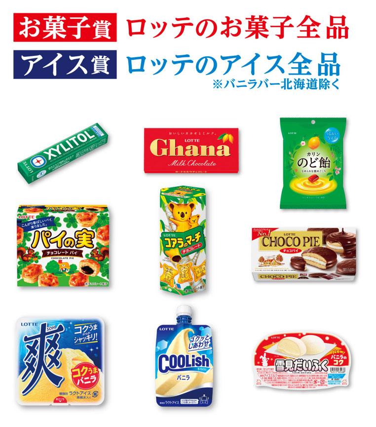 ロッテ お菓子 アイス 鬼滅の刃 懸賞キャンペーン2021夏 対象商品