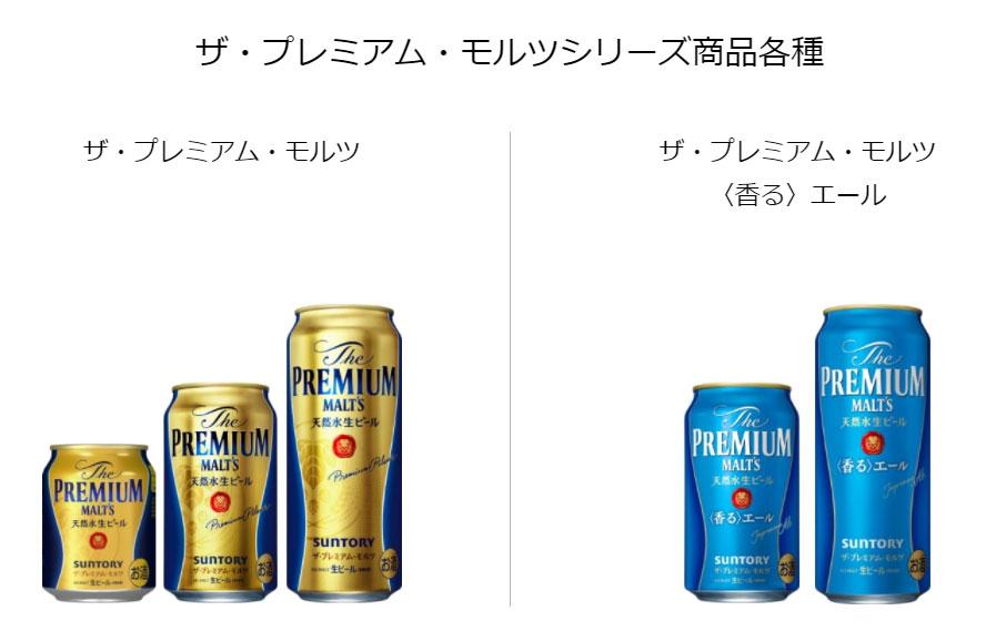 プレミアムモルツ 懸賞キャンペーン2021秋 対象商品