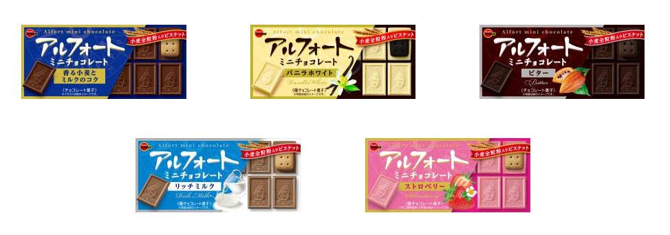 アルフォートミニ 懸賞キャンペーン2021秋 対象商品