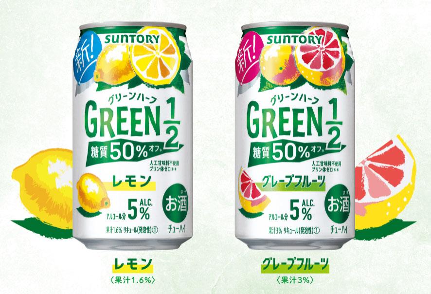 グリーンハーフ GREEN1/2 無料オープン懸賞キャンペーン プレゼント懸賞品